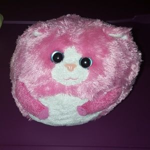 Other - Cute pink cat plush ball